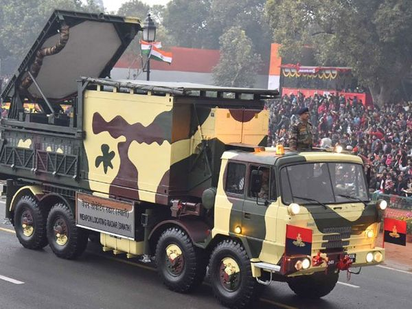 Weapon Locating Radar (Swathi) passes through the Rajpath, on the occasion of the 68th Republic Day Parade 2017, in New Delhi on January 26, 2017 (Source: PIB)