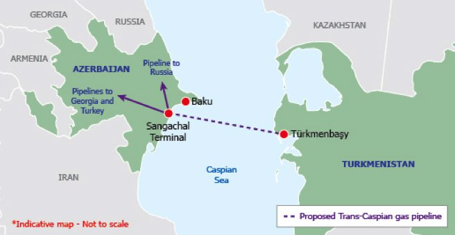 Trans-Caspian Pipeline (Photo-Credit: IENE)